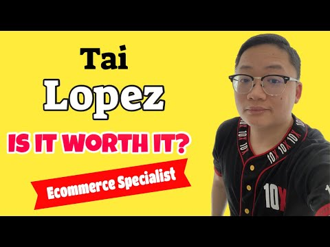 Tai Lopez Ecommerce Certified Specialist Program Review 2020 ...
