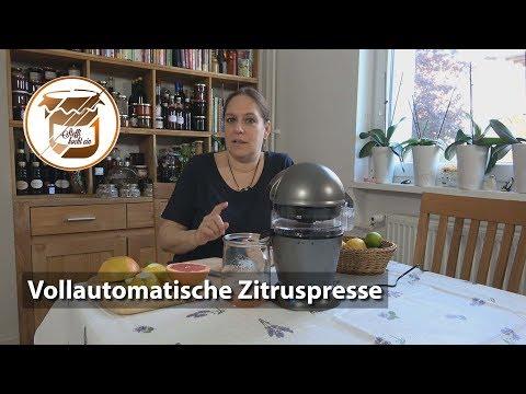 Vollautomatische Zitruspresse von Severin