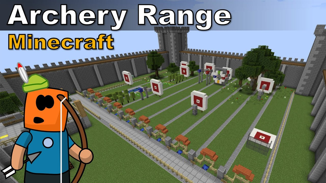 Simple Archery Range - Minecraft MiniGames