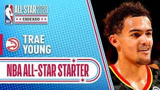 Trae Young 2020 All-Star Starter   2019-20 NBA Season