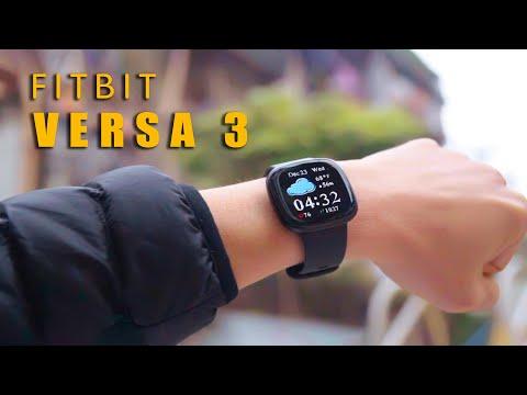 Đánh giá chi tiết Fitbit Versa 3| Ấn tượng, sang trọng và hữu dụng