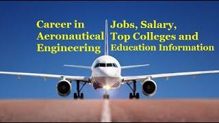 Aeronautical Engineering | Career After 12th