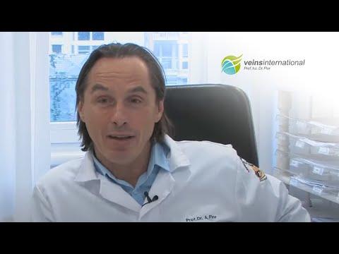 Das Präparat für die Behandlung und die Prophylaxe der Varikose
