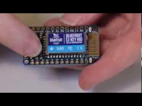 Bluefruit EZ-Key - 12 Input Bluetooth HID Keyboard