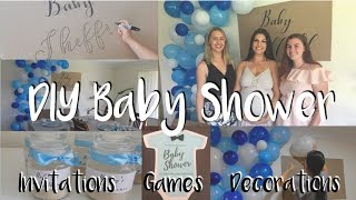 CHEAP, QUICK & EASY BABY SHOWER DIY'S | Invitations, Decorations, Games & More!