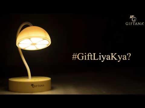 Lemon Fruit Shaped Desk Lamp - Giftana
