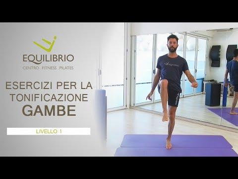 Esercizi di tonificazione gambe – liv 1 | Equilibrio Pilates