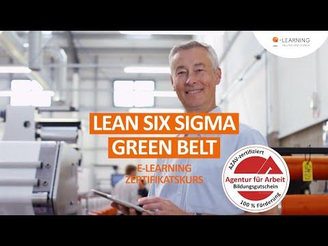 LEAN SIX SIGMA Green Belt   Geförderter Online-Kurs   E-Learning mit Bildungsgutschein