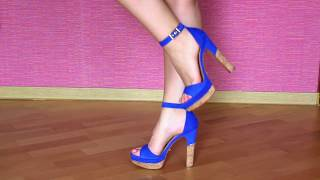 Моя обувь на каблуке и танкетке / Часть#2 / My shoes collection spring/summer