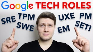 Overview of All Google Technical Roles