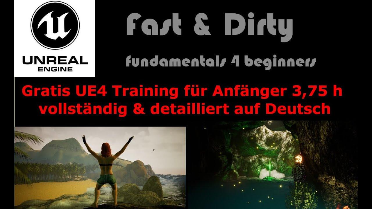 Unreal Engine 4 Tutorial Deutsch Beginner