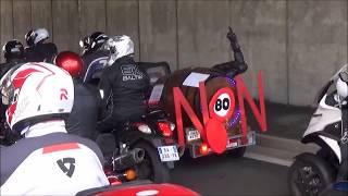 Manif moto-auto avec FFMC 49 le 17 02 2018 Angers