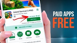 LEGALLY! How To Get Paid Games/Apps FREE From Google Play Store