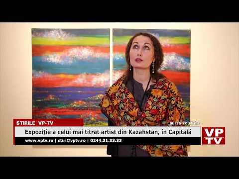 Expoziție a celui mai titrat artist din Kazahstan, în Capitală