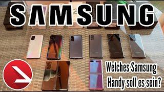Welches Samsung Handy soll es sein? 100 Euro bis 2000 Übersicht