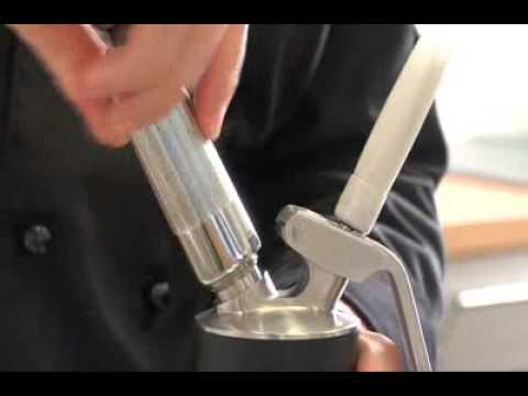 iSi Profi Whip Cream Dispenser - Instructions