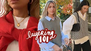 layering 101: make your clothes cuter!!