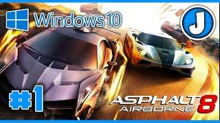 EPIC FAILS, GAME FREEZES AND GLITCHES | Asphalt 8: Airborne Gameplay #1 [Windows 10]