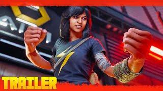 Trailers In Spanish Marvel's Avengers - Kamala Khan (2020) Comic Con Juego Tráiler Oficial Español anuncio