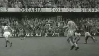 BRAZIL vs FRANCE - WORLD CUP - 1958