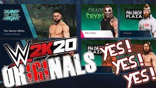 *WWE 2K20* THE ORIGINALS DLC IS HERE