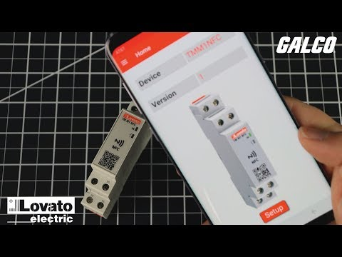 Lovato's TMM1 NFC Electronic Timer