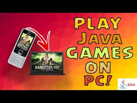 How To Play java games on PC for FREE! [HD]