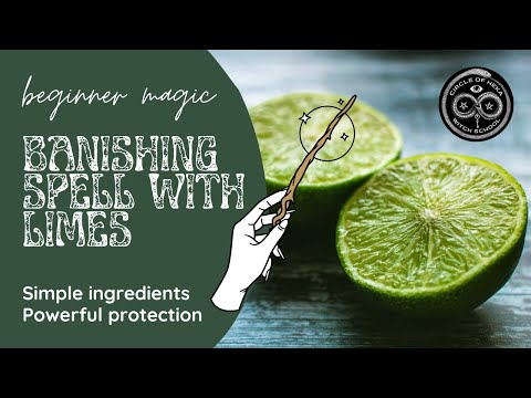 Simple Banishing Spell with Limes