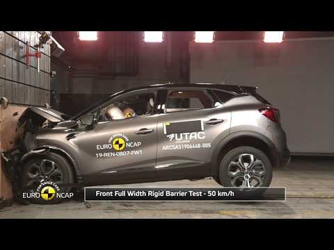 Euro NCAP Crash & Safety Tests of Renault Captur 2019