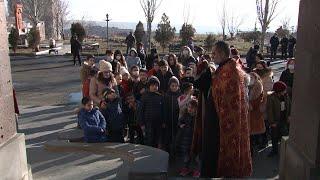 Նոր Նորքի Ս. Սարգիս եկեղեցին հյուրընկալել էր արցախցի երեխաների