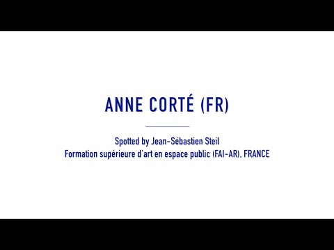 Anne Corté // Roure // Zéro avril // Travellings 2016