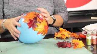 Inspired By Pinterest: Crafting With Fall Leaves
