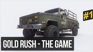 Gold Rush: The Game - ALTIN MADENİ SİMÜLASYONU - Alpha Demo #1
