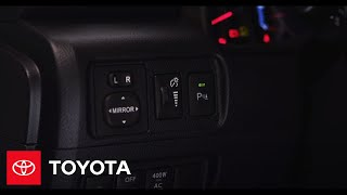 2014 4Runner How-To: Front And Rear Parking Sonar   Toyota