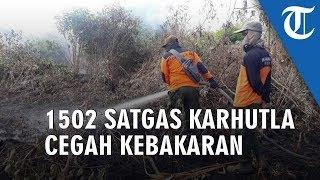 Pemerintah Turunkan 1502 Satgas Karhutla Waspadai Kebakaran Hutan saat Kemarau Panjang 2019