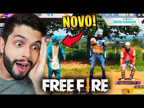 ELES SE SUPERARAM!!! REAGINDO MELHOR FREE FIRE NA VIDA REAL!!!