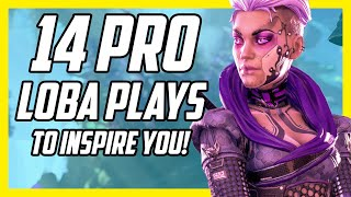 14 Crazy Pro Loba Plays To INSPIRE You to Learn Her More! - Apex Legends Season 5