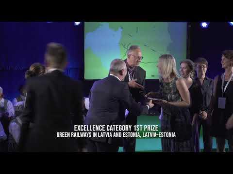 The 9th European Greenways Award in Dikli