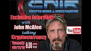 #CNIR Exclusive Interview with Mr. John McAfee