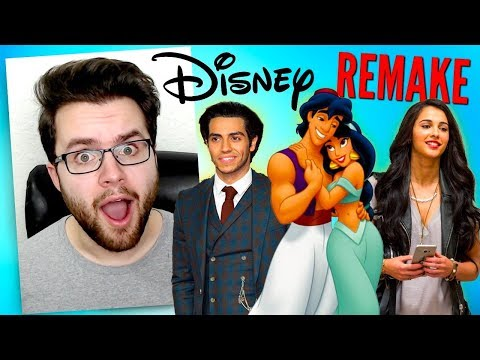 Disney's Live Action Aladdin REACTION – Everything We Know So Far Movie REVIEW