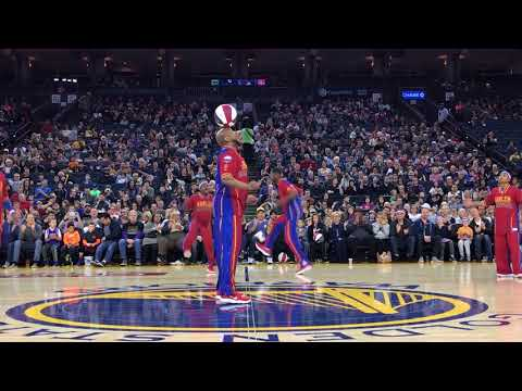 Oracle Arena Highlights   Harlem Globetrotters 2018