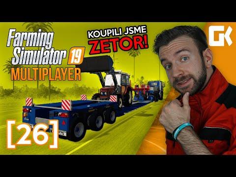 KOUPILI JSME ZETOR! | Farming Simulator 19 Multiplayer #26
