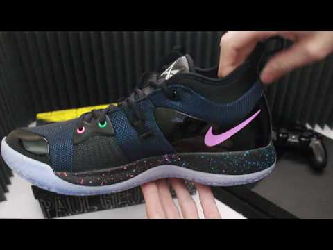sale retailer 1fb16 ac7ee Fake Paul George PG 2 Playstation Nike Shoes Unboxing from ...