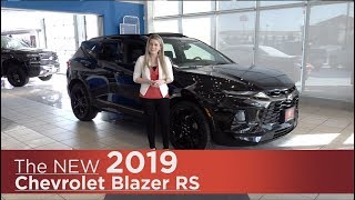 All-New 2019 Chevrolet Blazer RS | Mpls, St Cloud, Monticello, Buffalo, Rogers, MN | Review