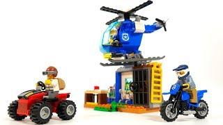 Lego City 60170 Off-Road Chase & Lego Juniors 10751 Mountain Police Chase - Lego Speed Build