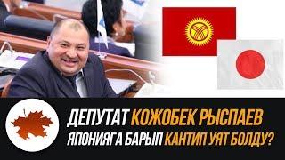 Депутат Кожобек Рыспаев Японияга барып кантип уят болду?