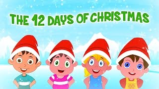 ❄♫ Twelve Days Of Christmas ♫ 🔔Famous Christmas Songs For Kids 🔔 Christmas Carols For Children ♫🔔❄
