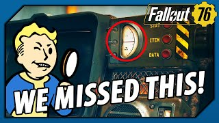 FALLOUT 76 - HOW did we MISS THIS!? Look at the Pip-Boy Radiation Level! - dooclip.me