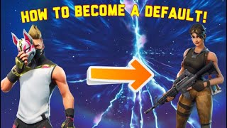 fortnite season 5 how to enable and become the default skin - fortnite heart dance