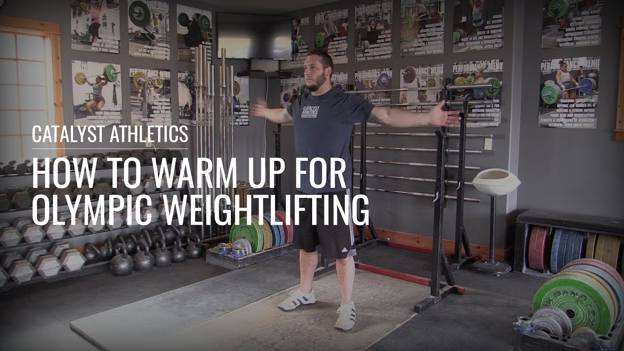 How To Warm Up For Olympic Weightlifting With Greg Everett - Olympic ...